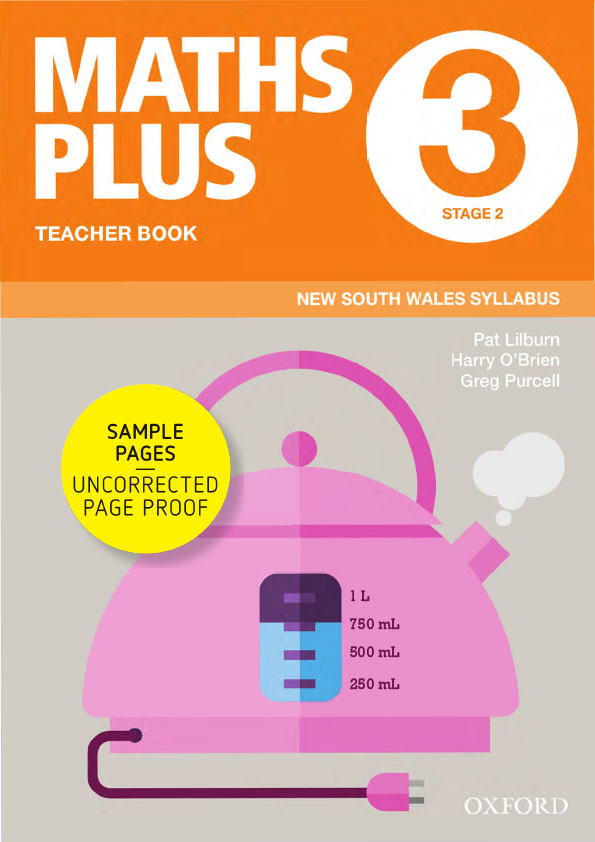 Maths Plus NSW Teacher Book sample pages