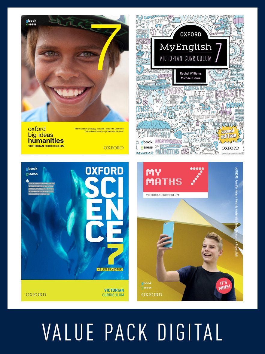 Oxford Value Pack Victorian Curriculum Year 7