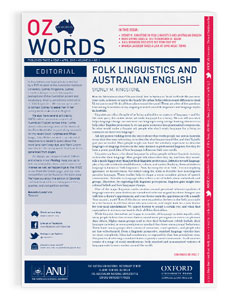 Ozwords - April 2015