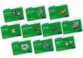 Set 1 Green Storybooks – Mixed Pack of 10