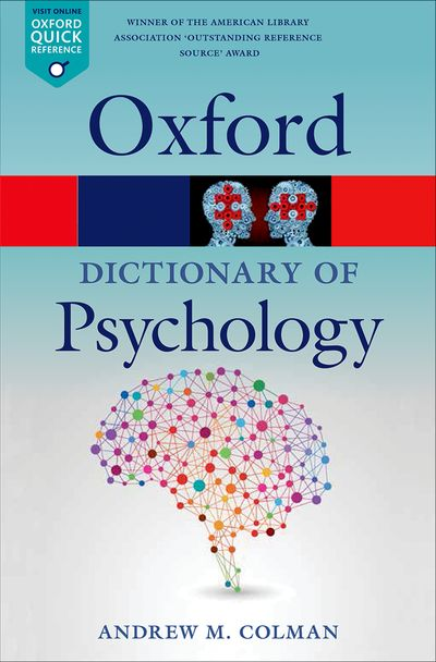 Oxford Dictionary of Psychology 4E