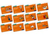 Set 4 Orange Storybooks – Mixed Pack of 12