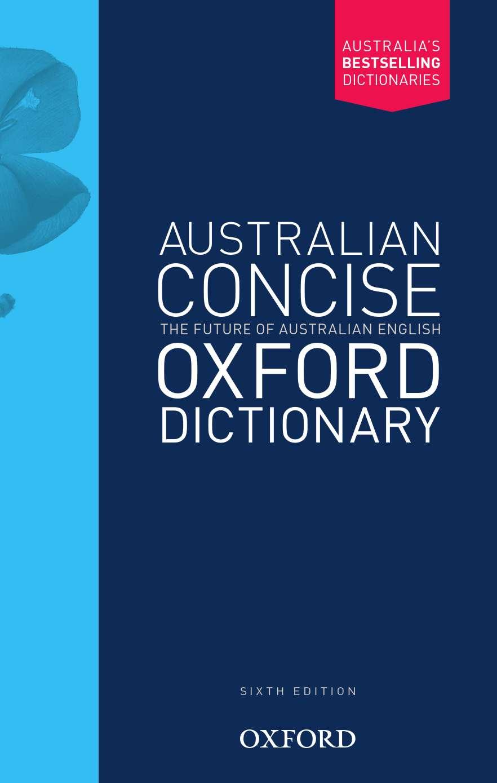 Australian Concise Oxford Dictionary Hardback 6E