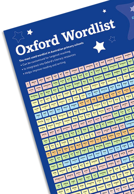 Oxford Wordlist poster