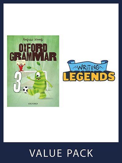 Oxford Grammar Student Book and Writing Legends Student Pack 3