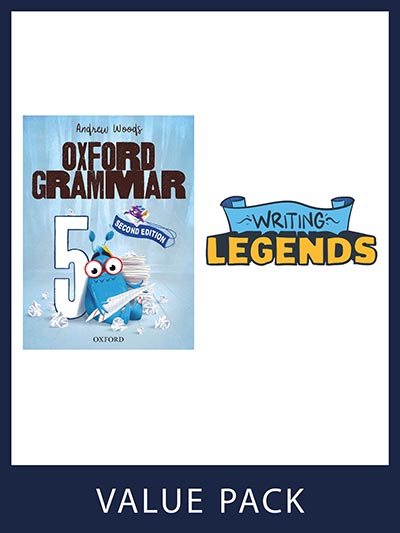 Oxford Grammar Student Book and Writing Legends Student Pack 5