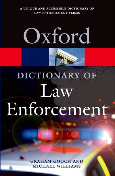 Dictionary of Law Enforcement