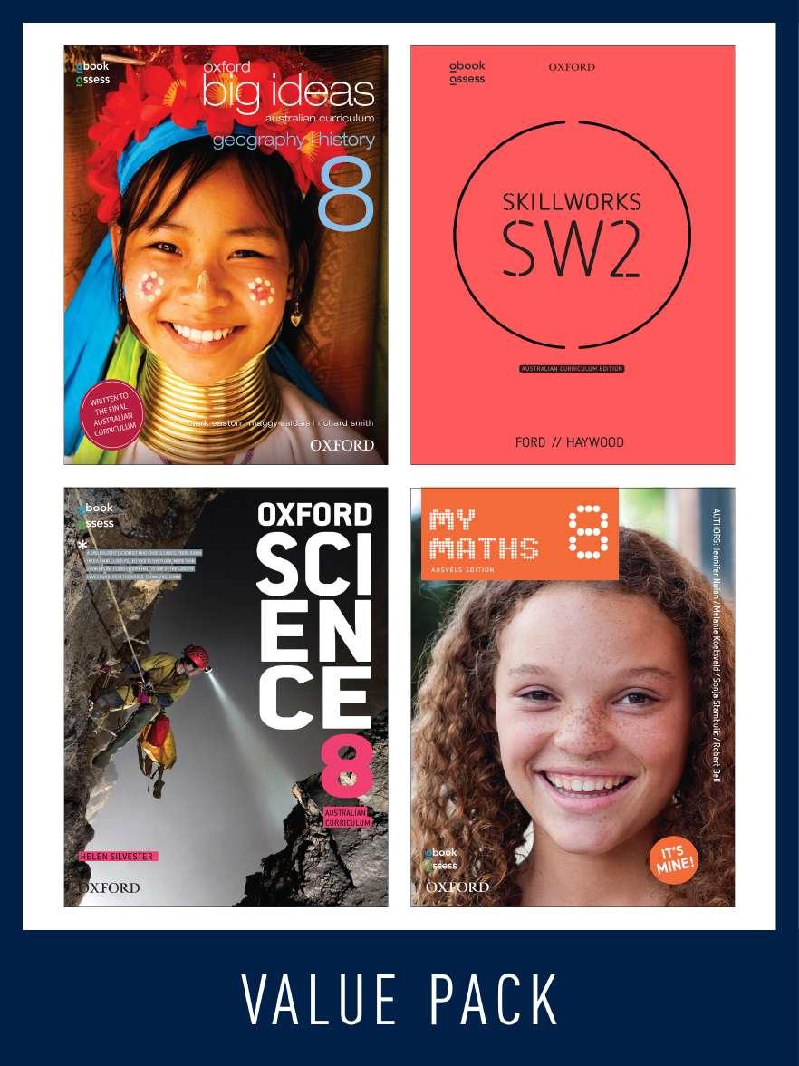 Oxford Value Pack Australian Curriculum Year 8