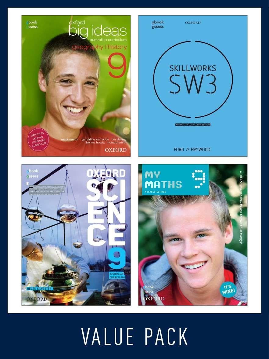 Oxford Value Pack Australian Curriculum Year 9