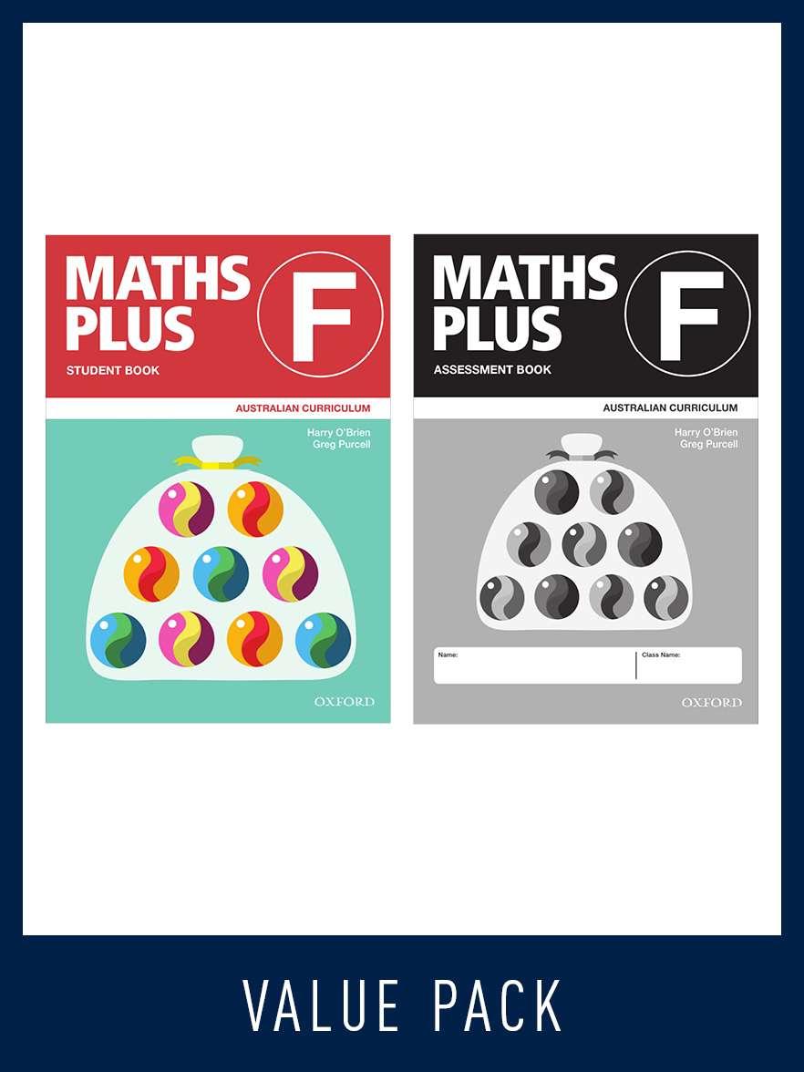 Maths Plus Australian Curriculum Student and Assessment Book F Value Pack, 2020