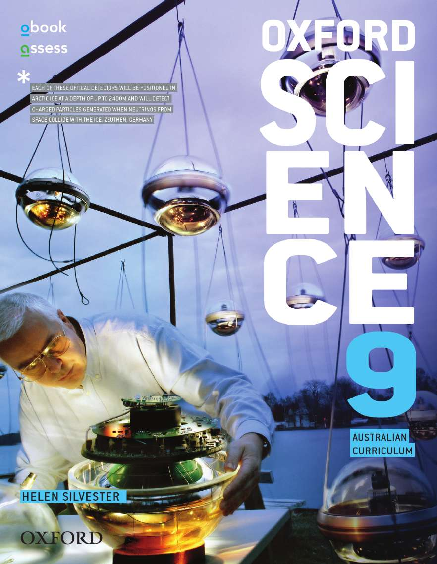 Oxford Science 9 Australian Curriculum Student Book + obook assess