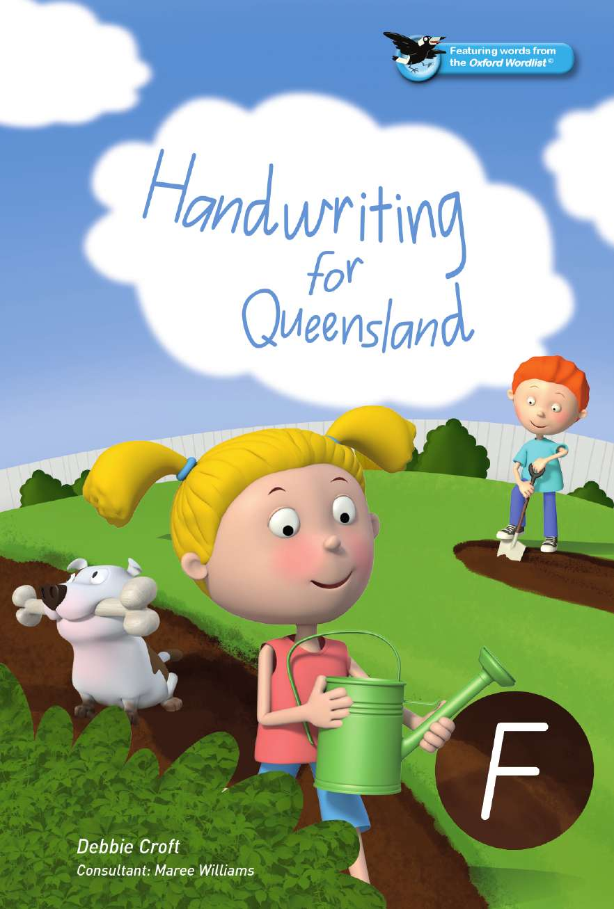 Oxford Handwriting for Queensland Foundation