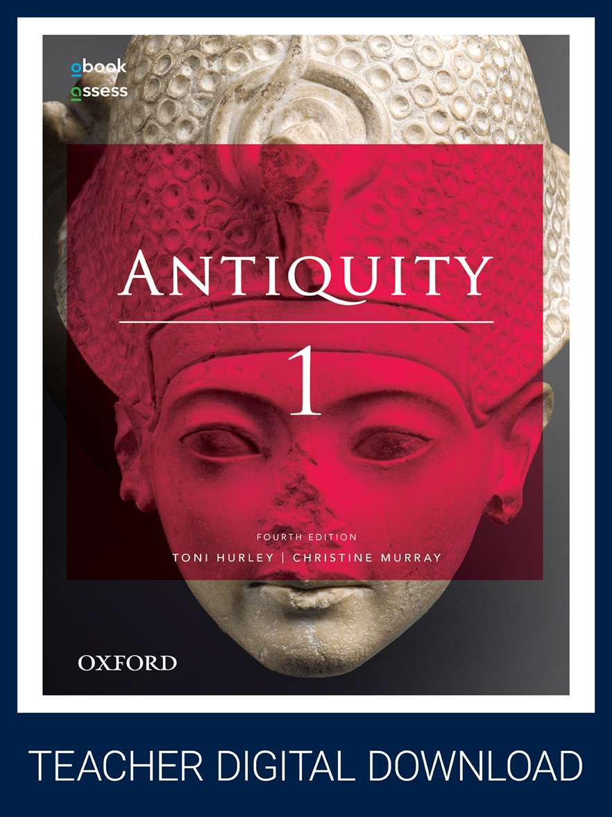 Antiquity 1 Year 11 4E Teacher obook assess