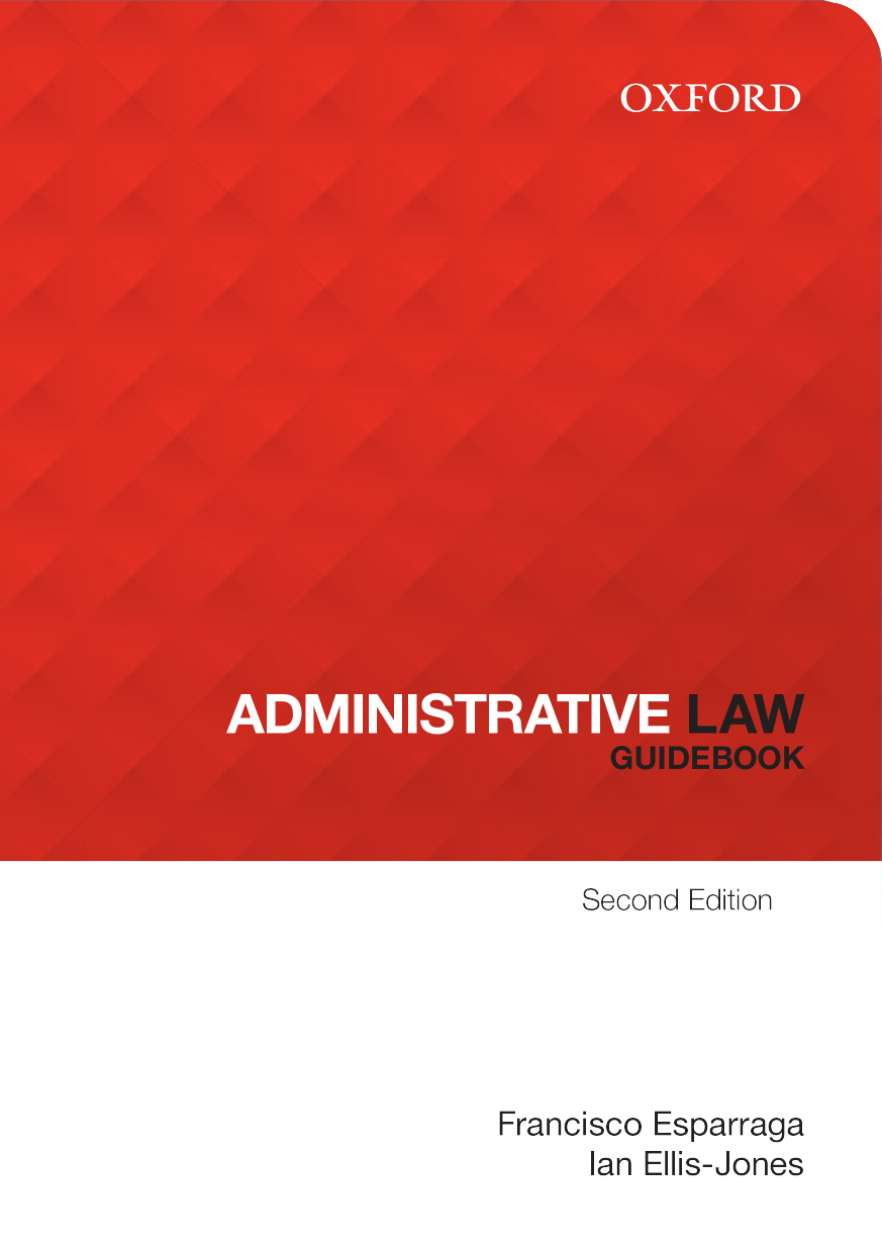 Administrative Law GuideBook eBook