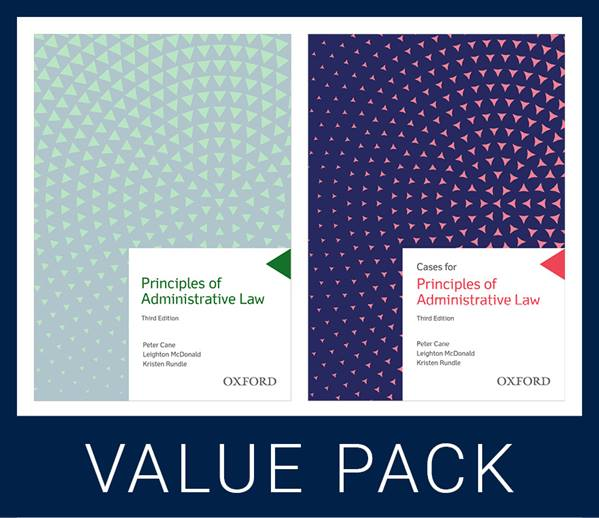 Principles of Administrative Law Value Pack
