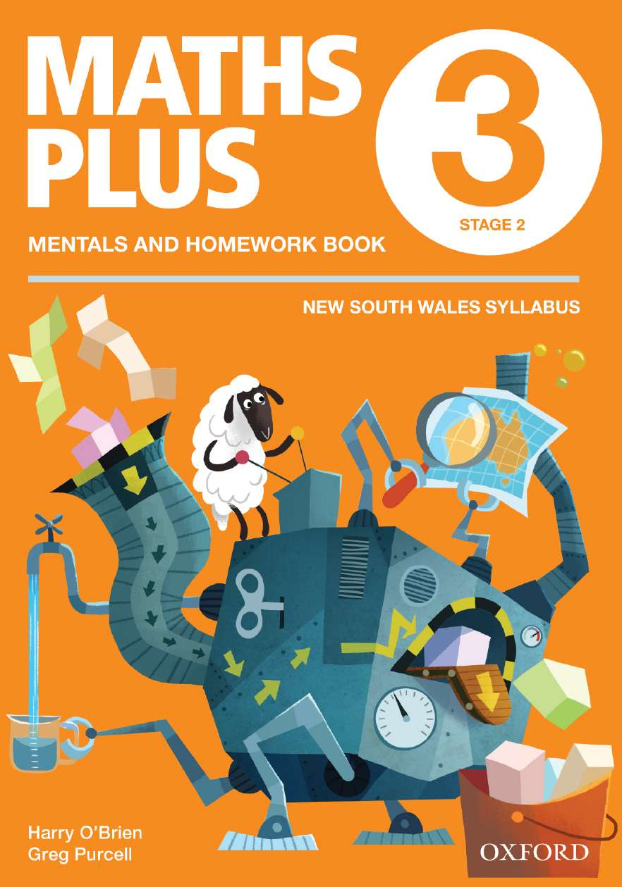 Maths Plus NSW Australian Curriculum Edition Mentals & Homework Book 3