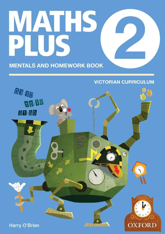 Maths Plus VIC Australian Curriculum Edition Mentals & Homework Book 2