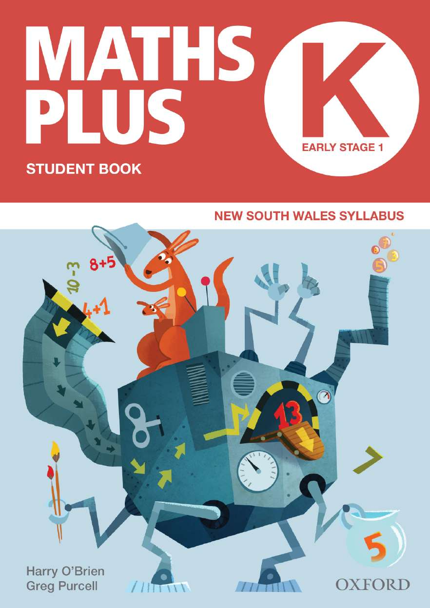 Maths Plus NSW Australian Curriculum Ed Student and Assessment Book K Value Pack