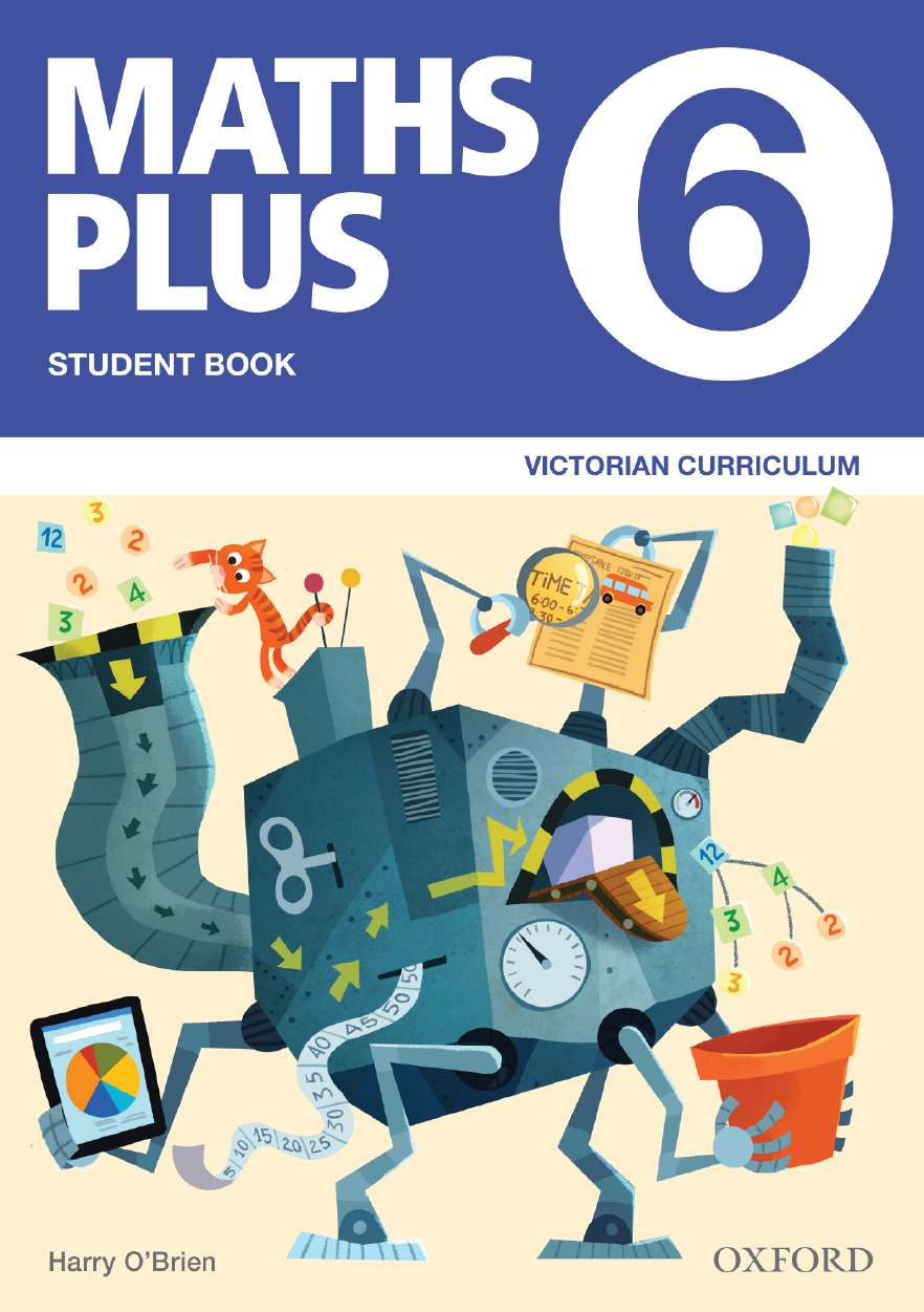 Maths Plus VIC Australian Curriculum Ed Student and Assessment Book 6 Value Pack