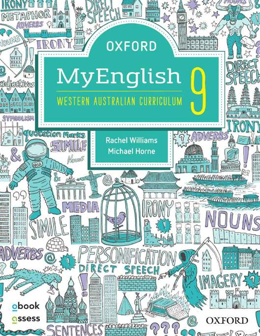 Oxford MyEnglish 9 for WA Curriculum Student Book + obook assess + Upskill