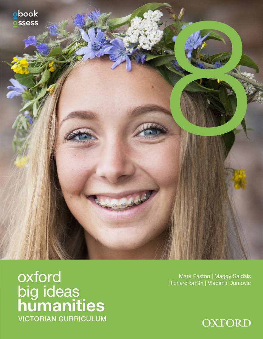 Oxford Big Ideas Humanities 8 Victorian Curriculum Student Book + obook assess