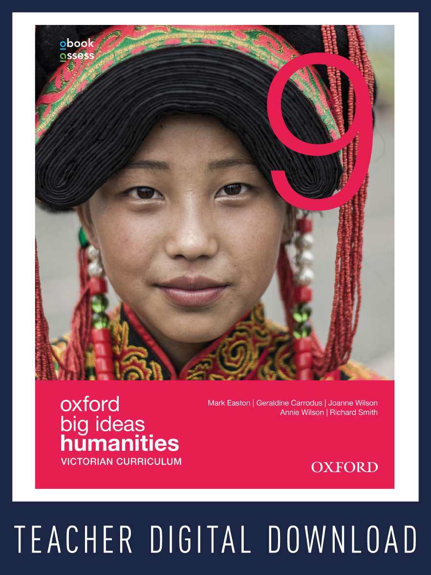 Oxford Big Ideas Humanities 9 Victorian Curriculum Teacher obook assess