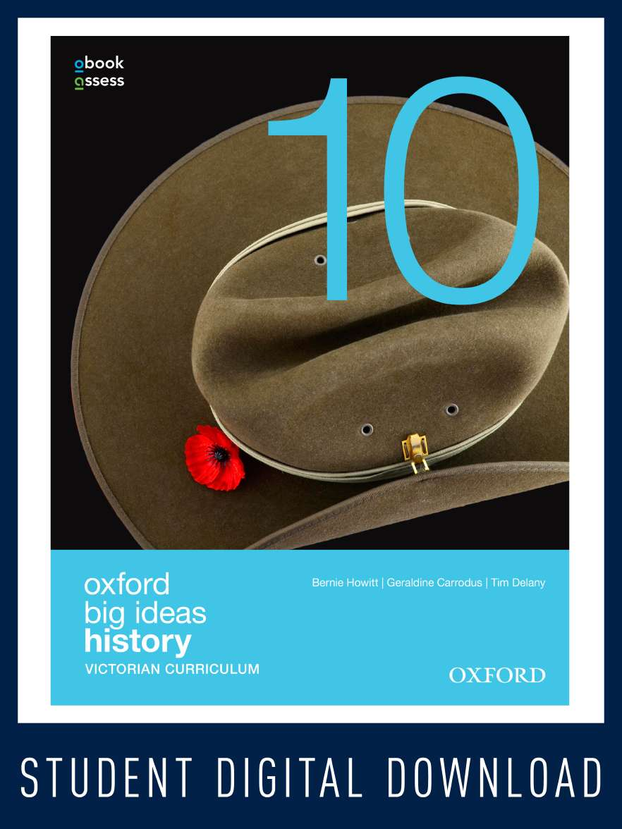 Oxford Big Ideas History 10 Victorian Curriculum  obook/assess