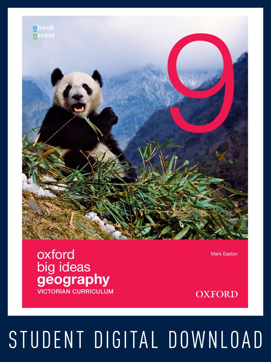 Oxford Big Ideas Geography 9 Victorian Curriculum  obook/assess