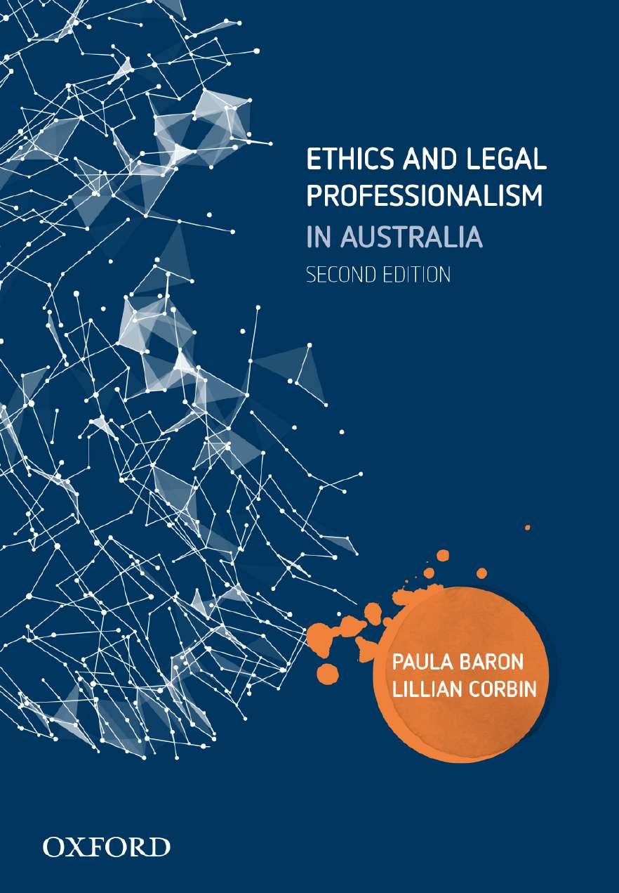 Ethics and legal professionalism in australia ebook oxford ethics and legal professionalism in australia fandeluxe Images