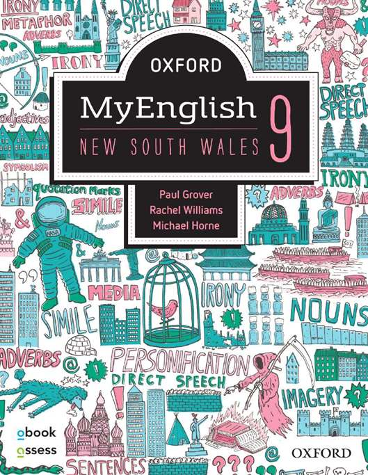 Oxford MyEnglish 9 NSW Student book + obook assess