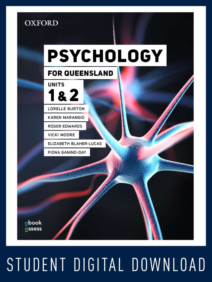 Psychology for Queensland Units 1&2 obook assess MULTI