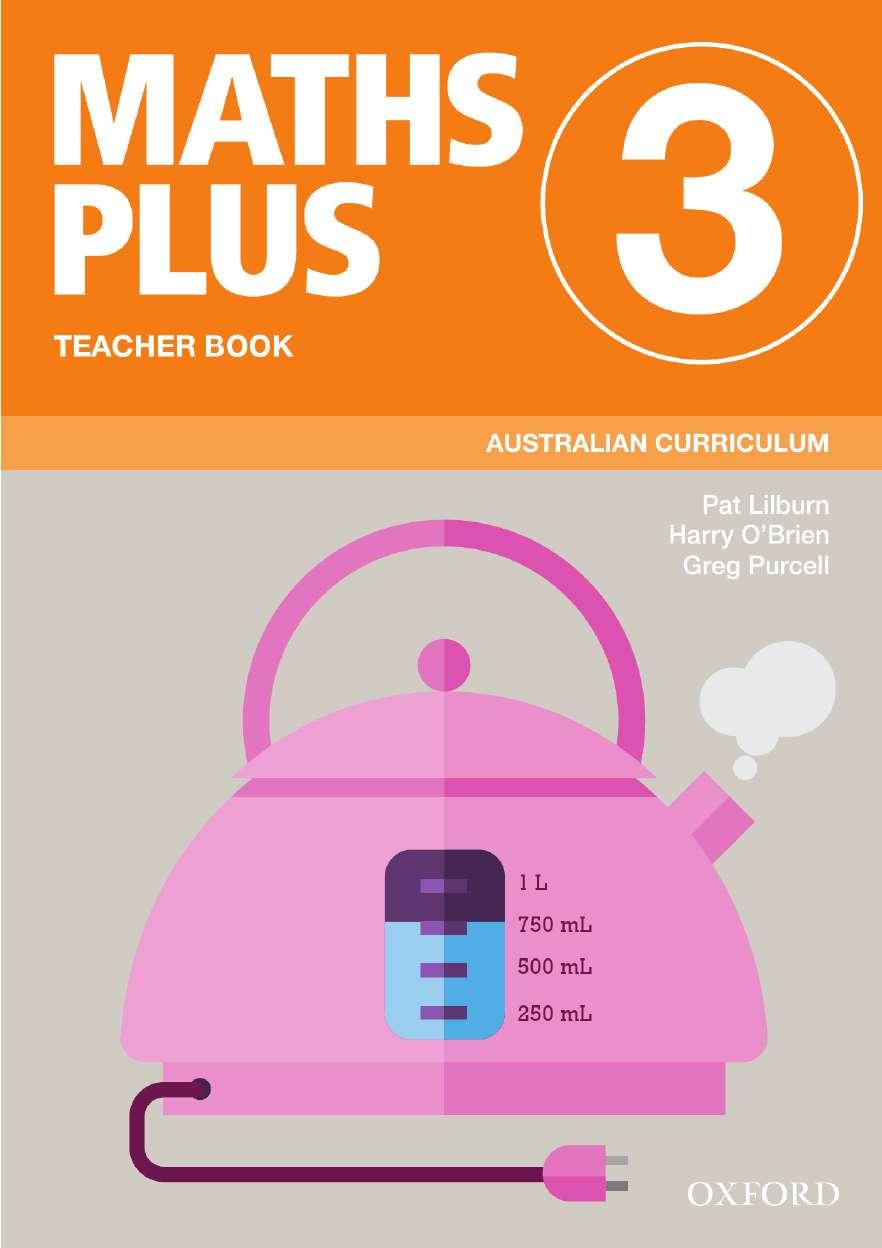 Maths Plus Australian Curriculum Teacher Book 3, 2020