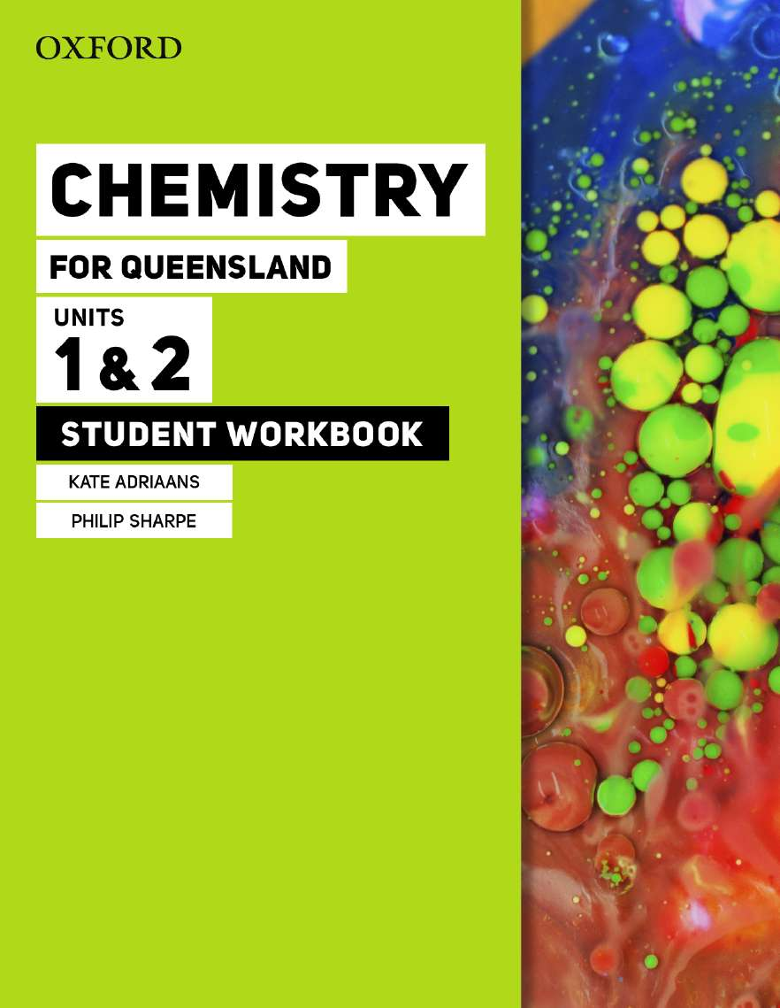 Chemistry for Queensland Units 1&2 Student workbook