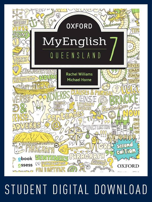 Oxford MyEnglish 7 QLD obook assess