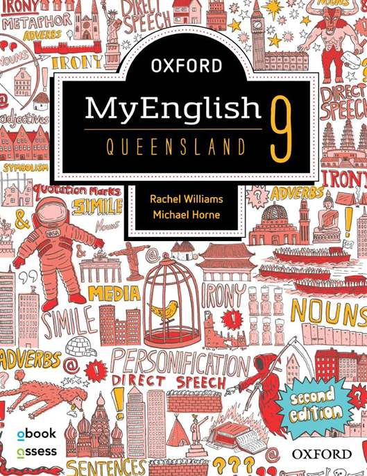 Oxford MyEnglish 9 QLD Student book + obook assess