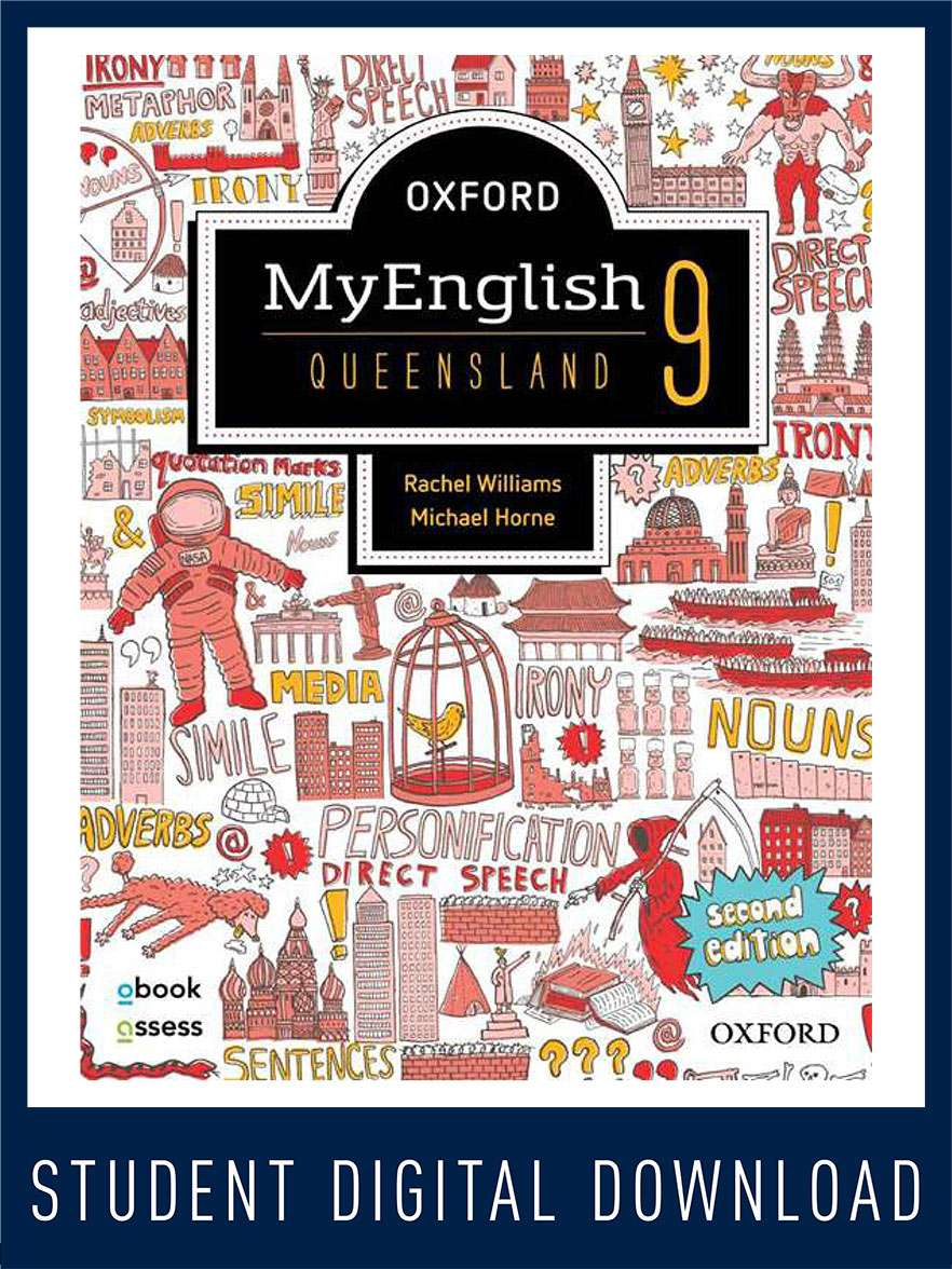 Oxford MyEnglish 9 QLD obook assess MULTI