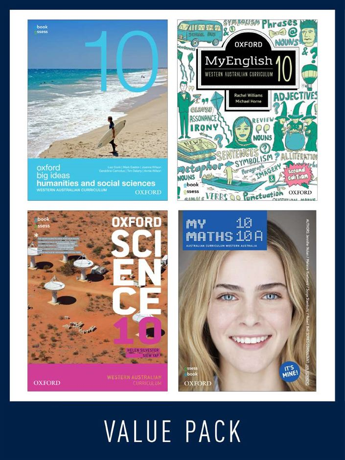 Oxford Value Pack Western Australian Curriculum Year 10