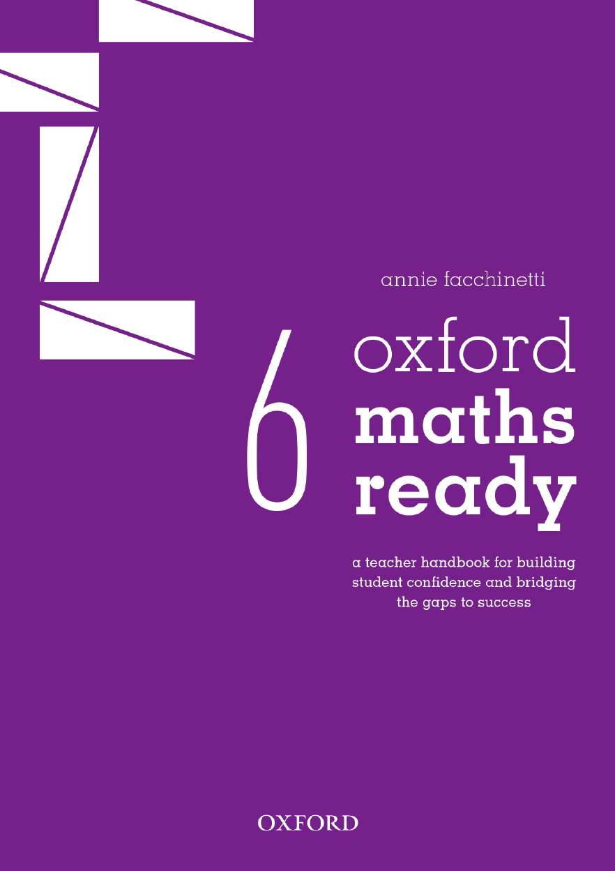 Oxford Maths Ready Teacher Handbook Year 6