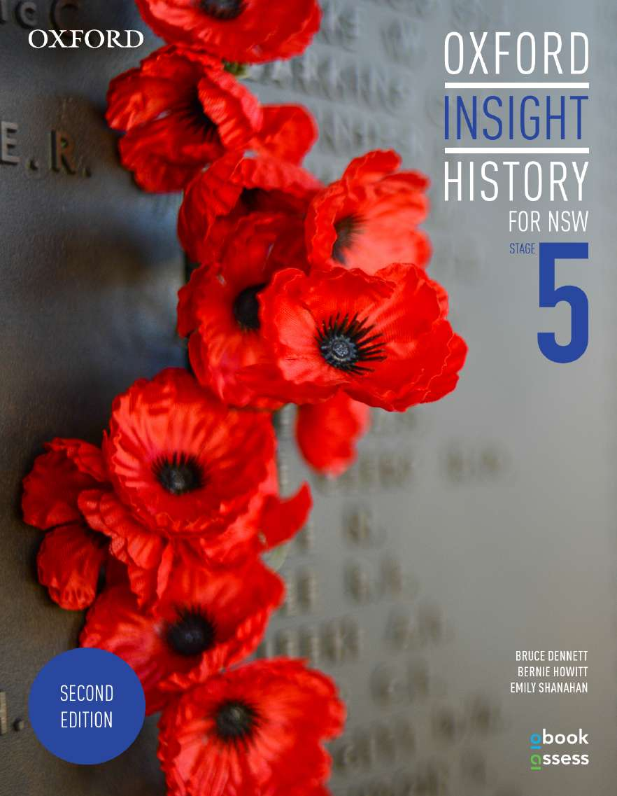Oxford Insight History for NSW Stage 5 Student Book + obook assess
