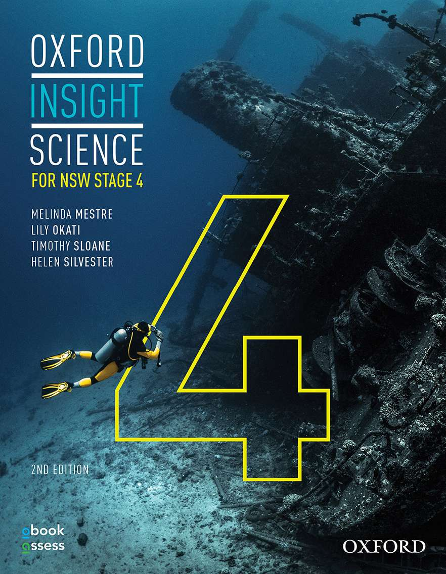 Oxford Insight Science for NSW Stage 4 Student book & obook assess