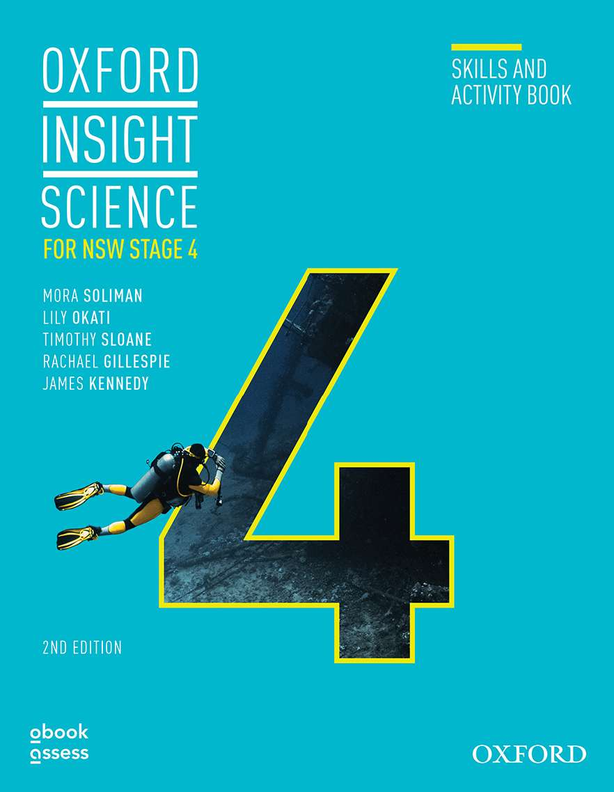 Oxford Insight Science for NSW Stage 4 Skills & Activity book
