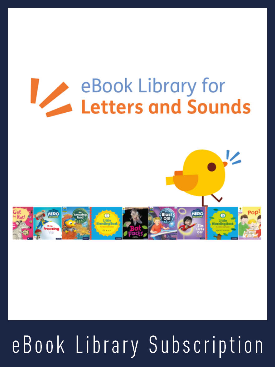 eBook Library for Letters and Sounds