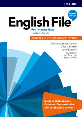 English File Pre-Intermediate Teacher's Guide with Teacher's Resource Centre