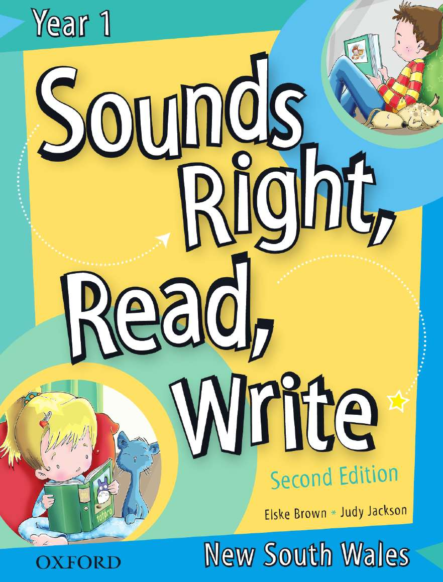 Sounds Right, Read, Write New South Wales Book 1