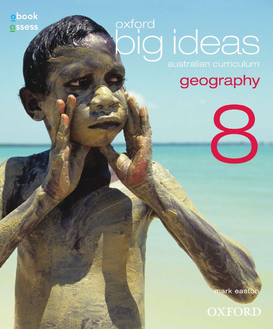 Oxford Big Ideas Geography 8 Australian Curriculum Student book + obook assess