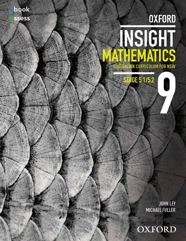 Oxford Insight Mathematics 9 5.1/5.2 AC for NSW Student book + obook assess