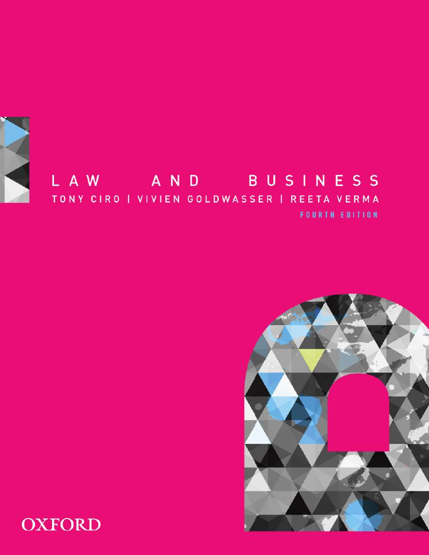Law and business oxford university press law and business stopboris Choice Image