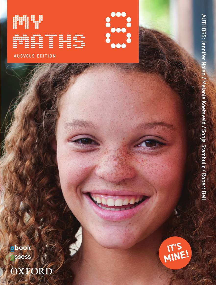 MyMaths 8 AusVELS Student book + obook assess