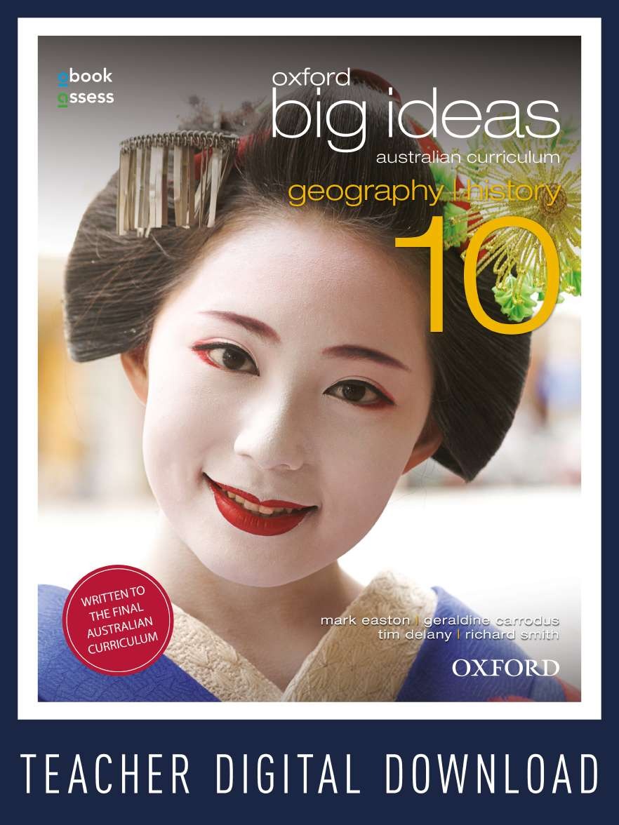 Oxford Big Ideas Geography/History 10 Australian Curriculum Teacher obook assess