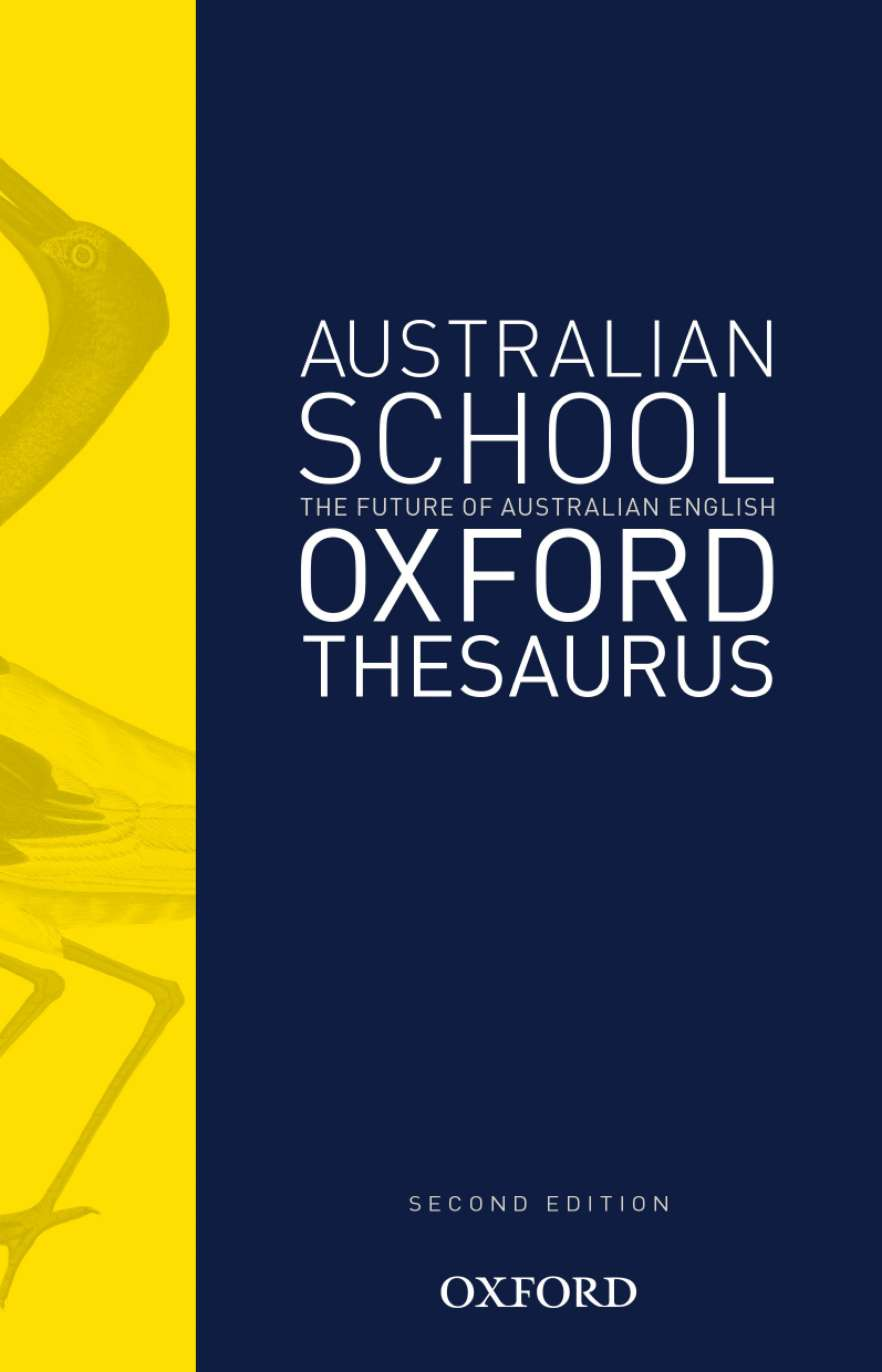 Australian School Oxford Thesaurus